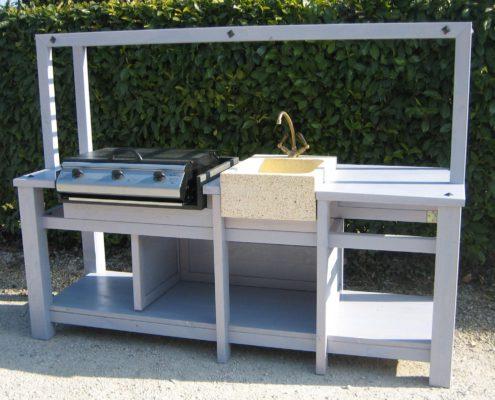 Cucine da esterno arredo giardino peruch for Piano cottura per esterno